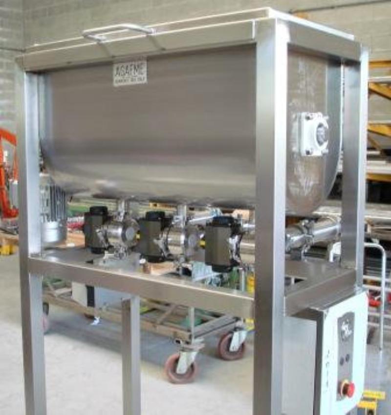 Miscelatore orizzontale industriale per liquidi faem for Idrociclone per sabbia usato
